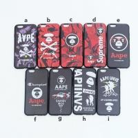SS AAPE Supreme Case Iphone 6+ 6S+ 7+ 8+