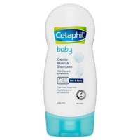 CETAPHIL BABY Gentle Wash and & Shampoo Shampo Sampo Sabun Cair 230ML