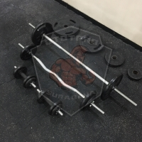 Paket 3-in-1 Home Free-Weights Set 70Kg /Barbell/Curlbar/Dumbbell/Gym