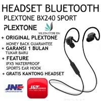 Headset Bluetooth Sport 4.1 Wireless Handsfree Earphone PLEXTONE BX240