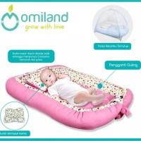 Kasur bayi serut dengan kelambu / kasur kolam 2 sisi / baby nest
