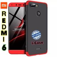 Xiaomi Redmi 6 Case GKK 360 Original - redmi6 casing cover