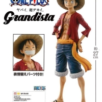 One Piece Grandista The Grandline Men Monkey D Luffy