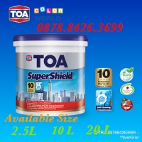 Cat Tembok TOA SuperShield Exterior Semi Gloss (Tinting)