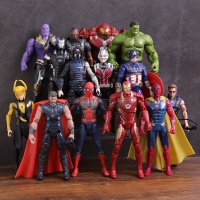 Action Figure Avengers Infinity War Spiderman Thor Ironman Captain