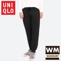 UNIQLO Men Pants Celana Sweat Jogger Training Pria Black