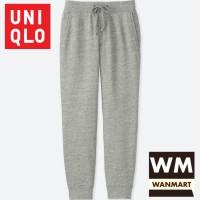 UNIQLO Men Pants Celana Sweat Jogger Training Pria Gray