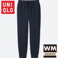 UNIQLO Men Pants Celana Sweat Jogger Training Pria Navy