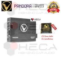 Processor Prosesor VENOM VPR 3.4 DSP Equalizer EQ built in Power 4-Ch