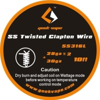 Geekvape SS Twisted clapton wire - Authentic
