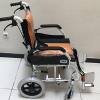 Kursi Roda Lipat Travel Travelling Wheel Chair Gea FS868L Aluminium