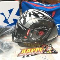 Helm Fullface Shark Race R Pro GP Wintertest CarbonSkin Zarco Champion