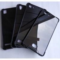 Anti Crack Acrylic Fuze Black Hard Case Samsung Galaxy J2 J5 J7 Prime