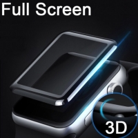 Tempered glass full cover 3D iwatch apple watch screen curved 38 42 mm