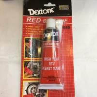 Dextone red silicone 70gr dextone red lem gasket merah
