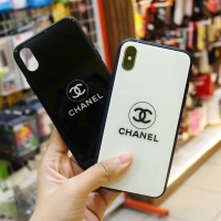 Chanel Glass Case Iphone 6 6S 6+ 6S+ X XS