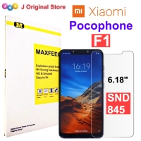 MAXFEEL Tempered Glass Xiaomi Pocophone F1 Clear Premium Glass