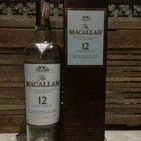 BOTOL BEKAS MIRAS - THE MACALLAN 12Y/O 700ml