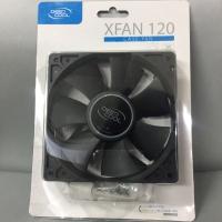 Fan Case 12 Cm Black Deep Cool XFan 120 Kipas DeepCool FanCasing Hitam