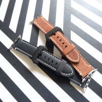 Strap Classic Leather For Apple Watch 42mm 44mm
