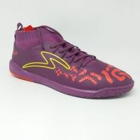 Sepatu futsal specs original Swervo Thunderstorm Plum purple/orange