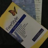 FreeStyle Optium , strip gula darah