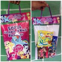 Snack Ulang Tahun Goodie Bag Souvenir Ultah Hampers Tas