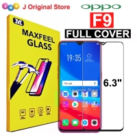 MAXFEEL Tempered Glass Oppo F9 Full Curved Premium