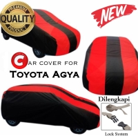TERMURAH! Body Cover Premium/Selimut mobil/Car Cover Toyota Agya