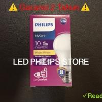Lampu Bohlam LED Philips 10.5 Watt Warm White/Kuning, 10.5W 10.5Watt