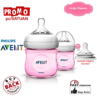 Botol susu avent philips milk bottle natural 125ml 125 ml Pink SATUAN