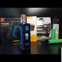 paket lengkap authentic mod geekvape aegis legend 200w kit RDA vape