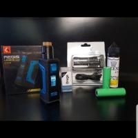 paket siap ngebul mod aegis legend 200w authentic kit RDA lengkap vape
