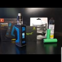 paket ngebul mod aegis legend 200w geekvape authentic kit RDTA lengkap