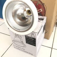 Philips downlight lampu 5 inch in inci fbs 115 white putih