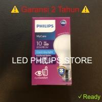 Lampu Bohlam LED Philips 10.5 Watt Putih/Cool Daylight (10.5W 10.5 W)