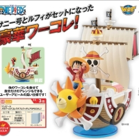 One Piece Mega WCF Special Thousand Sunny & Luffy