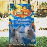 Briter Bunny makanan kelinci 1 kg pelet rasa wortel