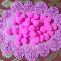 Pompom 25 mm (pink)