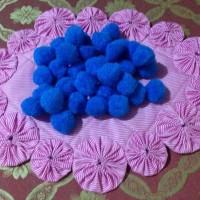 Pompom 25 mm (biru turkis)