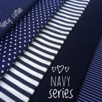 kain katun jepang motif navy edition ori tokai senko