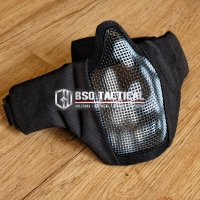 Mask PDW Ghost Style Wiremesh Masker Half Face Protection Airsoft Mask