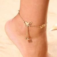 Butterfly Ankle Chain Gelang Kaki Kupu Kupu Murah Kado Wanita Hadiah