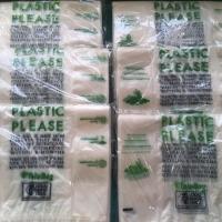 Plastik kantong organic singkong size 28