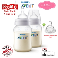 Botol susu Avent Philips Classic bottle 260ml 260 ml TWIN