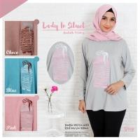 Kaos muslim/ kaos big size/ kaos fashion/ kaos lady in siluet