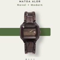 Matoa Jam Tangan Kayu - Wooden Watch - ORiginal Matoa Alor