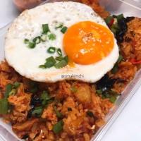 Kimchi Fried Rice / Nasi Goreng Kimchi