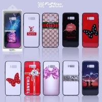 Case Glass Case Kaca Motif Swaloski FS Oppo F7