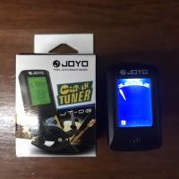 Tuner clip alat steam gitar Joyo JT-06 gitar dan bass